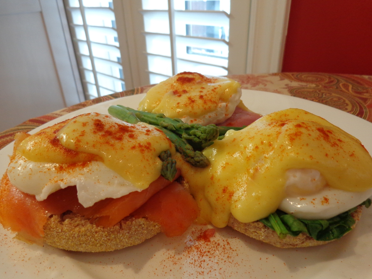 EGGS: BENEDICT, FLORENTINE AND ROYALE