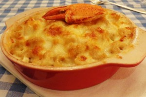 Lobster mac and cheese
