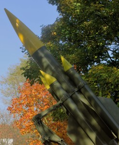 Serious SAM missiles in the village of Woodsetts