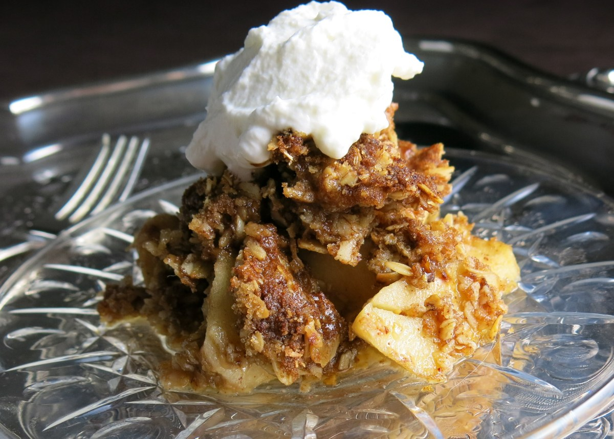 APPLE CRUMBLE vs APPLE CRISP