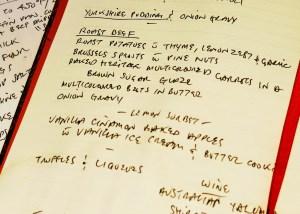 Nigel's kitchen diary