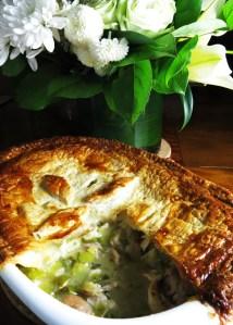 Chicken and leek pie 2