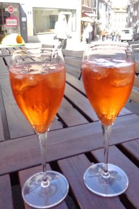 Aperol Spritz - sophisticated European refreshment in Basle