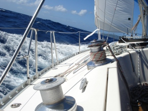 Brisk breezes in the Caribbean