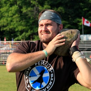 Heavy events at the Fergus Scottish Festival and Highland Games