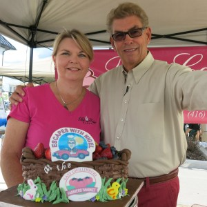 With Lisa Burrows of Pat-a-Cake