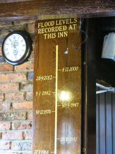 The King's Arms floor record