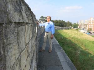 York's mediaeval walls