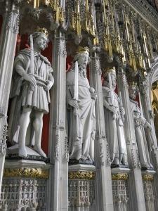 Mediaeval kings reign supreme