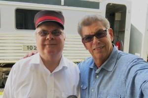 Selfie with YDHR ticket agent Ron Layton