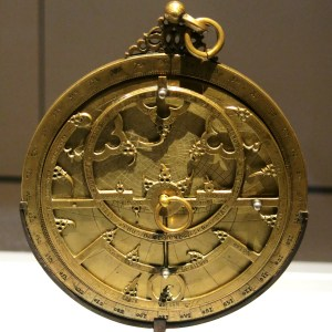 Bronze and silver planispheric astrolabe, 14th C Spain