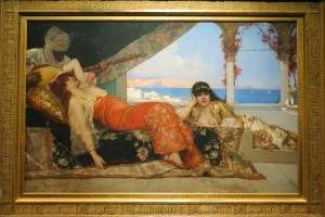 The Favourite of the Emir by Benjamin-Constant, courtesy of the United States Naval Academy Museum