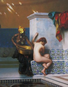 The Moorish Bath by Jean-Léon Gérôme (1824-1904), Museum of Fine Arts, Boston