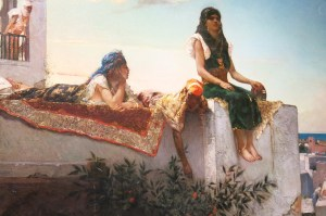 Evening on the Seashore, Tangier, Milwaukee Art Museum