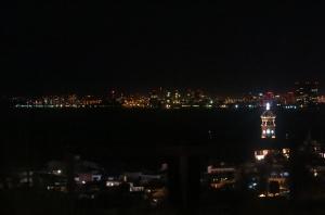 Night vista from the Vista Grill
