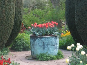 A secret garden at Sissinghurst in Kent