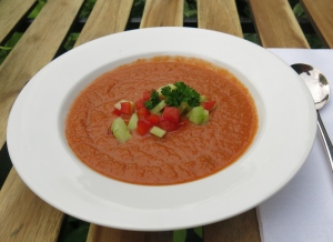 Gazpacho - chilled soup from Andalucia
