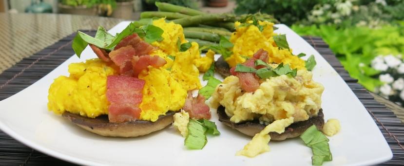 Eggs Portobello 1