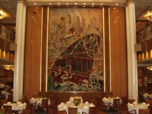 The Brittannia dining room