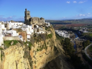 The quintessentially Andalucian town of Arcos de la Frontera