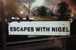Title sequence from Escapes with Nigel