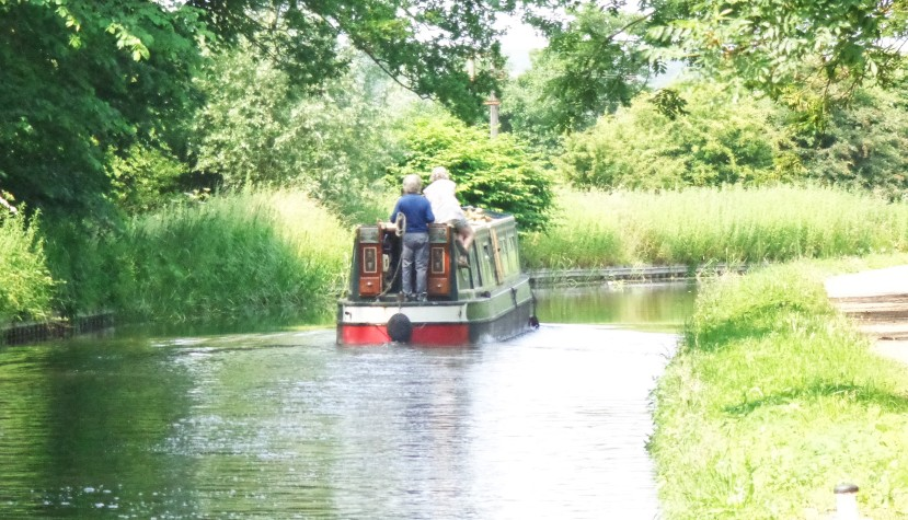 Featured image - on the restored Chesterfield Canal near Shireoaks