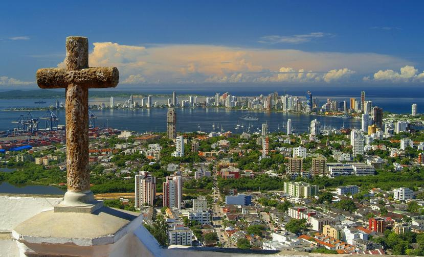 Featured image - looking over Cartagena from the Popa Monastery