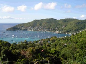 Admiralty Bay, Bequia in the Grenadines
