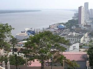 The Rio Guayas at Guayaquil