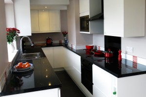 Our brilliant new galley kitchen