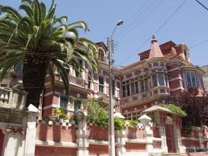 The Victorian-style Palacio Astoreca hotel