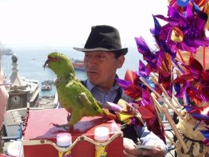 Street vendor on Paseo Gervasoni