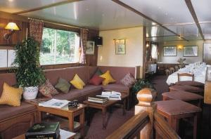 The Lafayette's main lounge