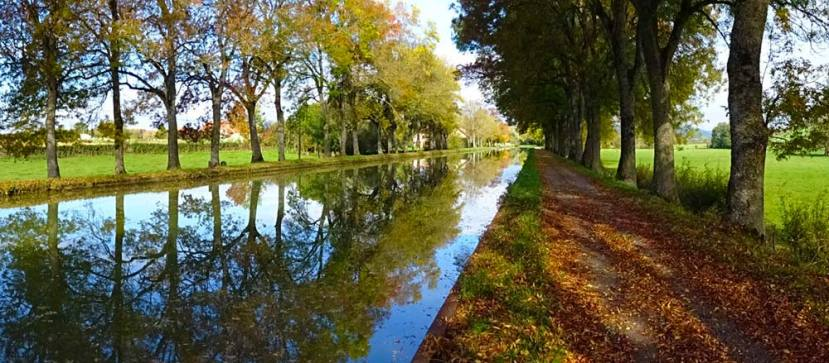 Featured image - the Canal de Bourgogne