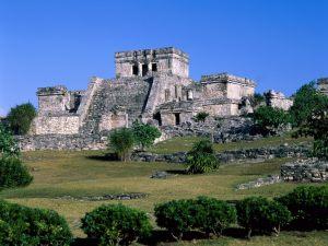 Ancient Mayan ruins of Tulum