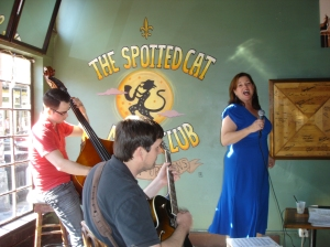 The Spotted Cat jazz club