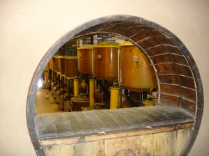 Capel Distillery where Pisco is produced