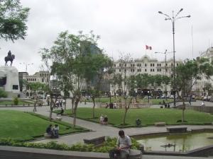 Plaza San Martin, Lima