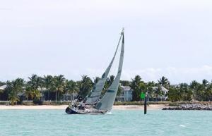 Sloops compete in Key West Raceweeek