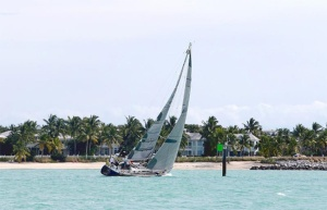 Sloops compete in Key West Raceweeek