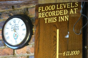 York floods during the wettest year on record