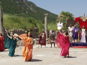 Entertainment at Ephesus .