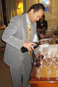 Jean-Noël Boidon dispensing his treasures
