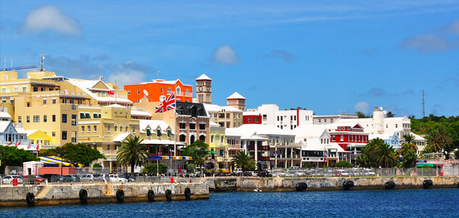 Featured image -- Bermuda's capital of Hamilton