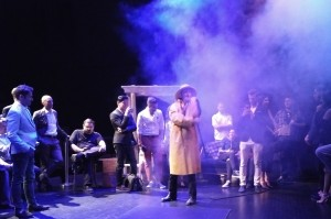 A single malted Scot on stage at the Jane Mallett Theatre