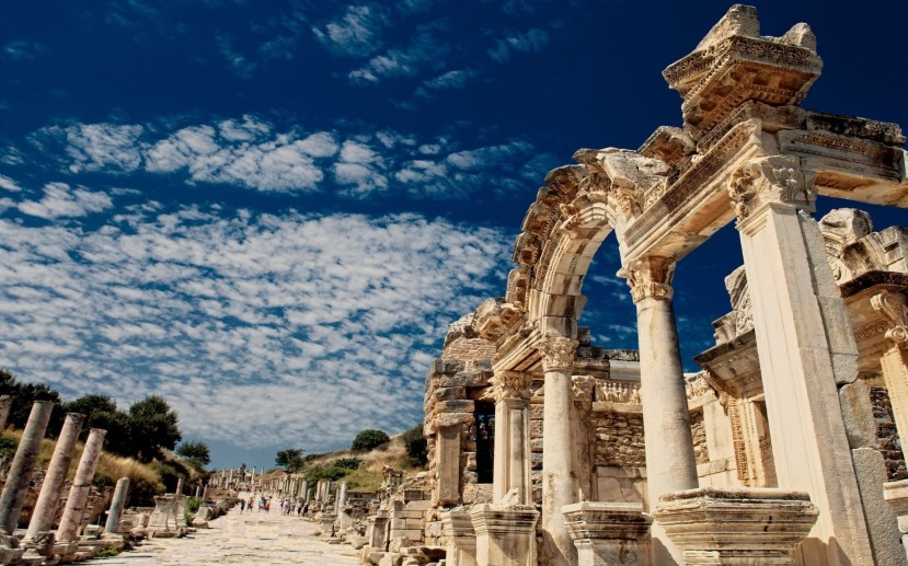 Featured image -- Marble Street, Ephesus