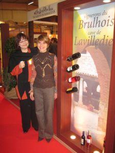 Hélène with Isabelle Mignot