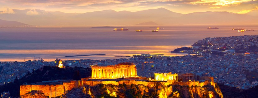 Featured image - Acropolis with Saronic Gulf in background