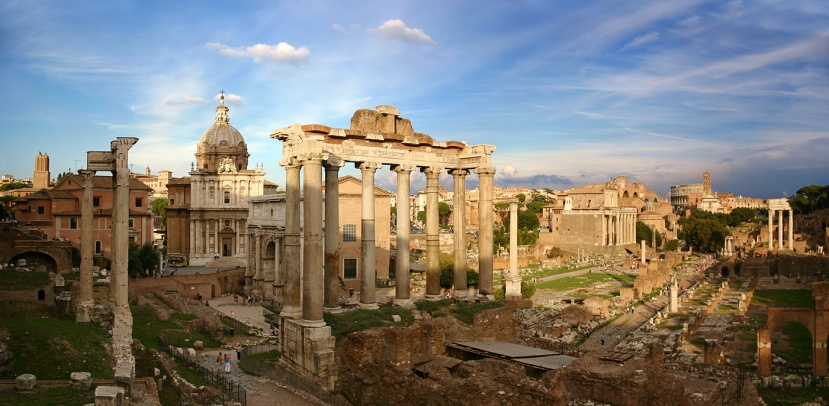 Featured image – the Roman Forum (courtesy of Stefan Bauer)