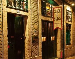 Fado club in Lisbon